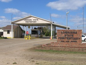 The entrance to the Louisiana State Penitentiary (courtesy Wikimedia Commons user msppmoore)