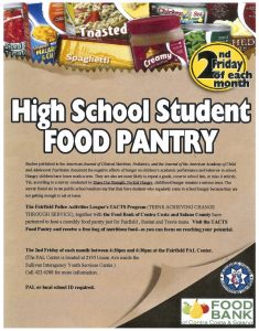 High School Food Pantry