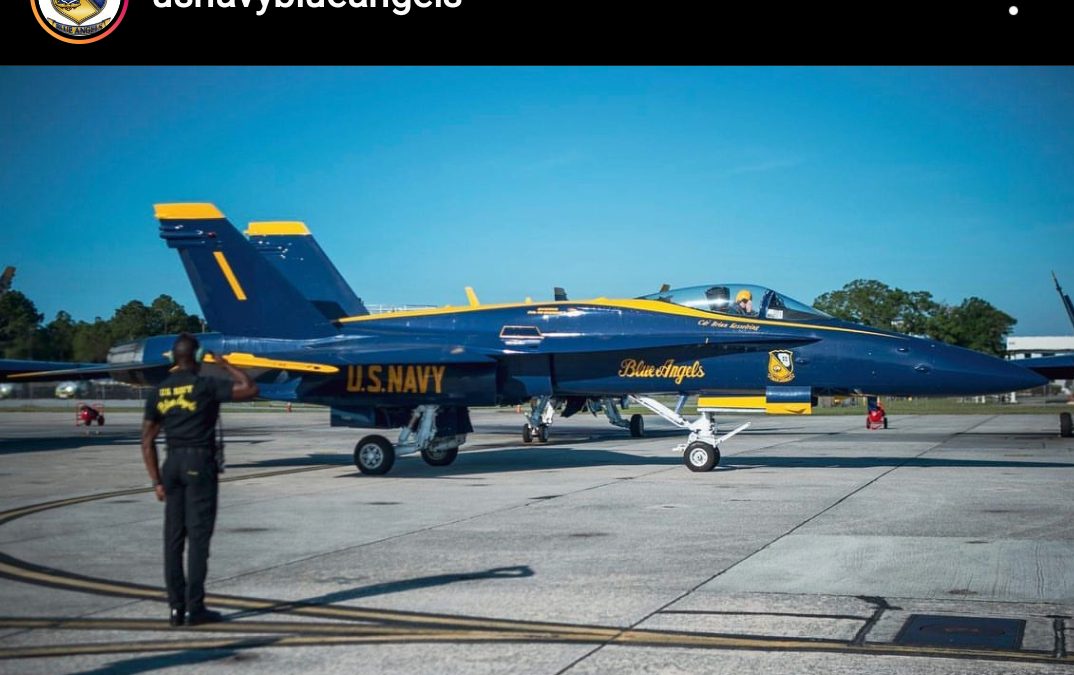 Blue Angels Obey Orders – they fly when told